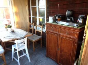 Vårt tillfälliga kök